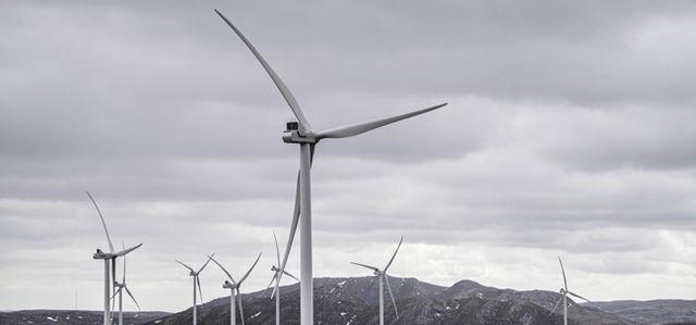 Roan vindpark 13. Mai 2019.Haraheia & noe Einarsdalen.Foto: Ole Martin Wold