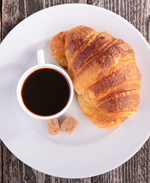 Kaffe og croisont