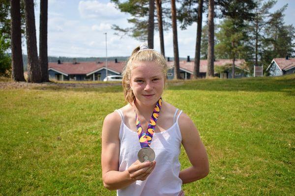 Henriette Jæger sølvmedalje - bredde