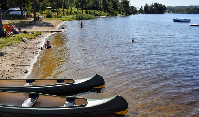 Kirkeng - kanoer strand