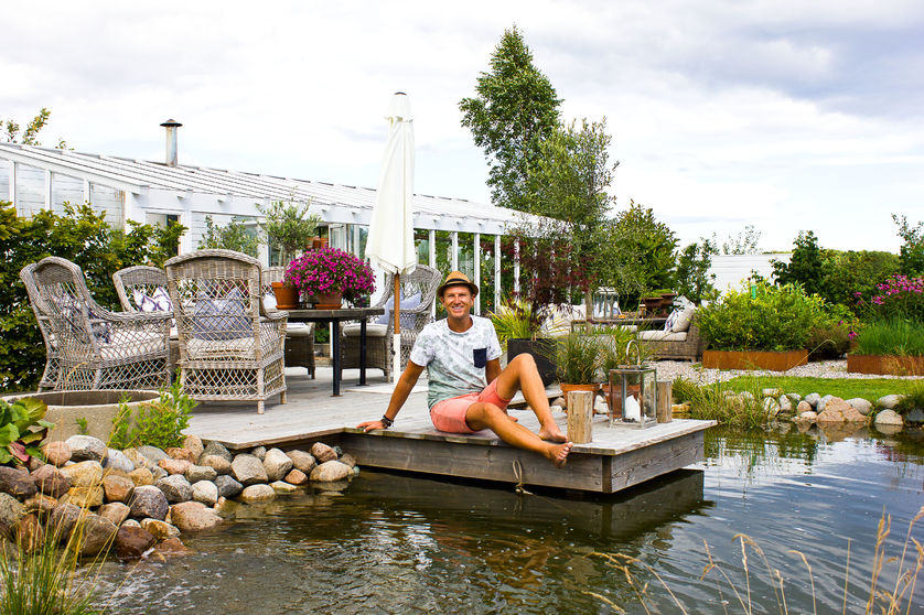 Eventyrlig uterom-PÅ BRYGGA-Foto-Bj�