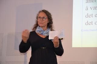 Kristin Danielsen Wolf på FUB-konferansen
