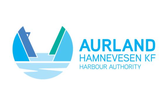 Aurland Hamnevesen KF (logo)