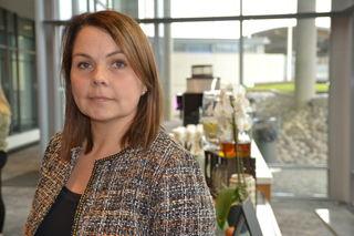 Marie Skinstad-Jansen på FUB-konferansen 2019