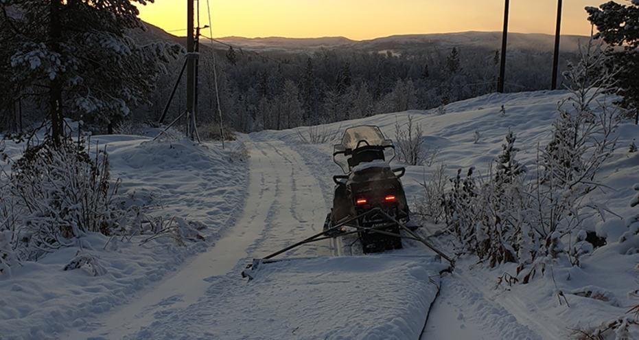 arbeid skiløype