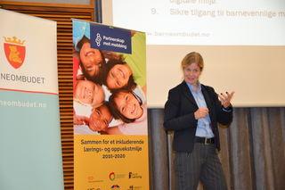 Kjersti Botnan Larsen på Faglig Forum