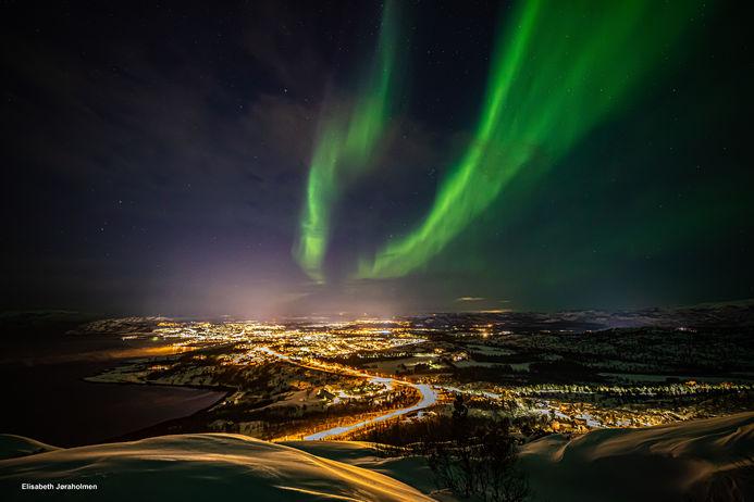 Nordlys over Alta