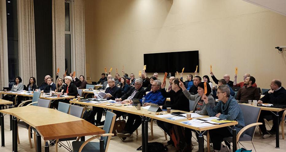 Kommunestyret stemmer over budsjettet