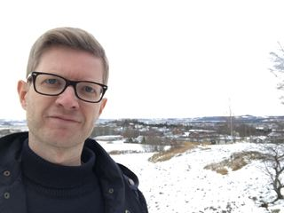 Einar Olav Larsen ute