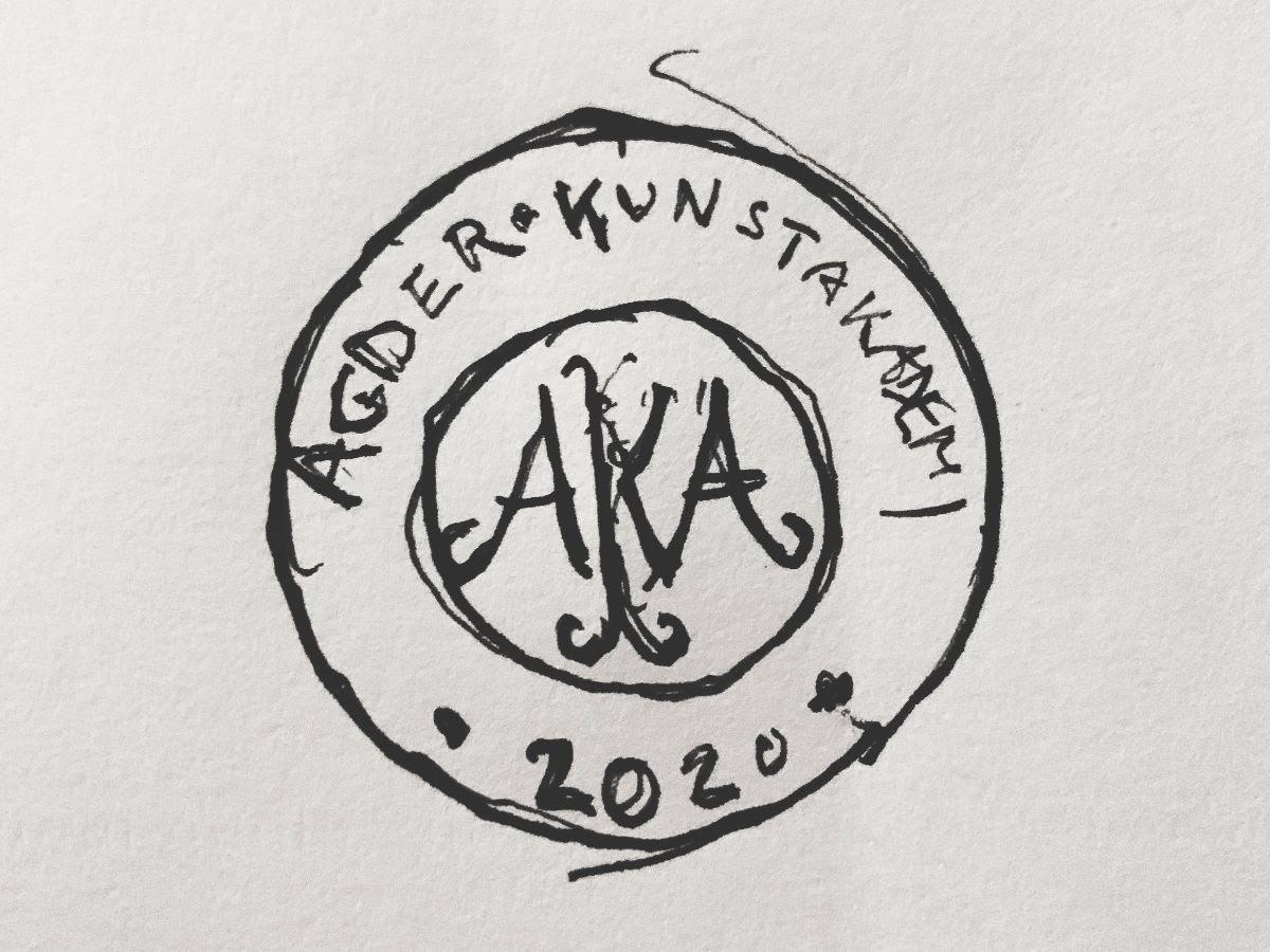 Logo Agder kunstakademi