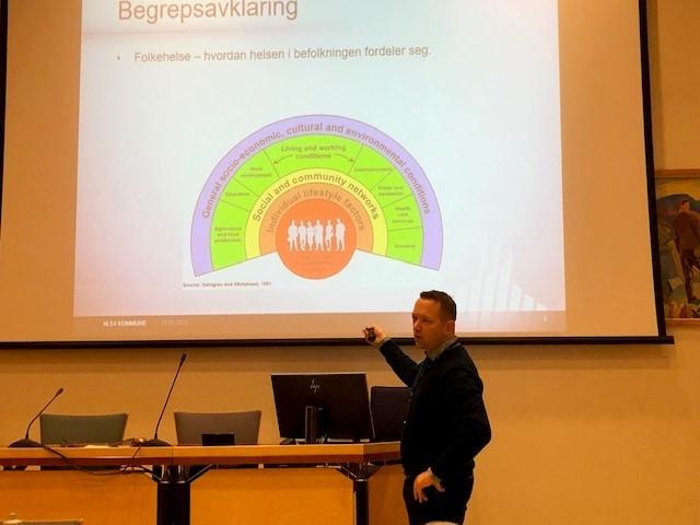 Folkehelsekoordinator Gjermund Abrahamsen Wik