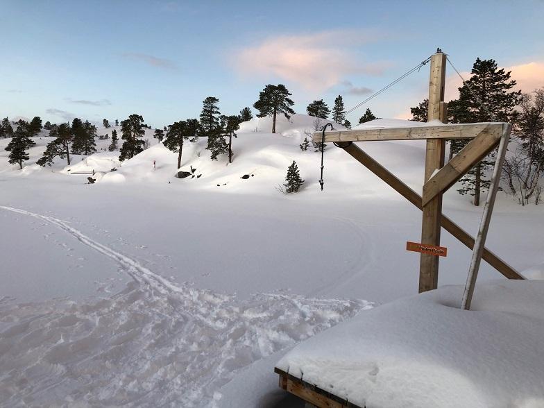 Gakorivann vinter