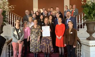 Gruppefoto høynivåmøtet 2020