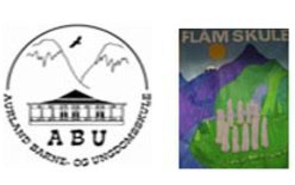 Logo ABu og Flåm skule