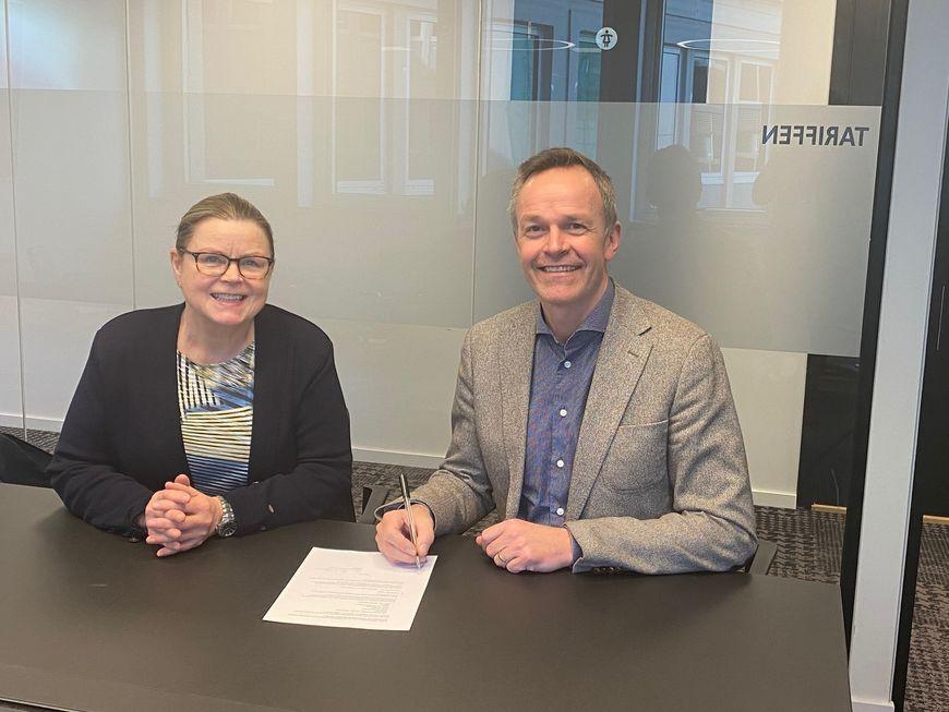 Avtale KS Bedrift Kraftfylka signering