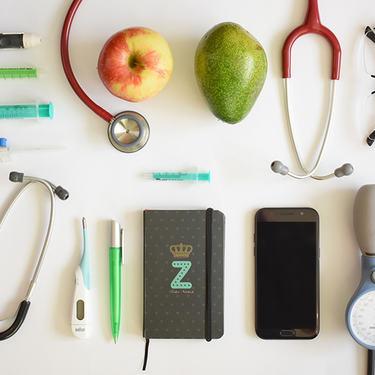 forskjellig utstyr brukt i helsevesenet
