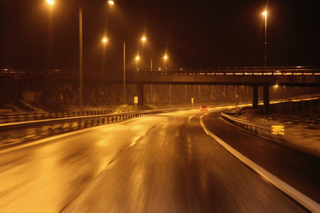 Motorvei bilkjøring