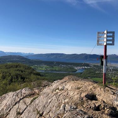 Raipas fjelltopp