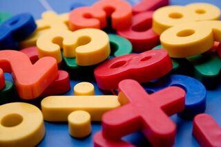 Fargede tall - skole