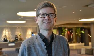 Einar Olav Larsen, leder for FUB, 2020