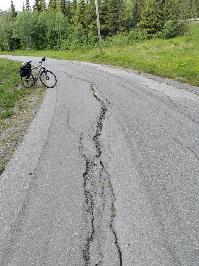 Sykkelskade Storgjerdet