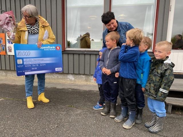 Hanne Rosenber med Åsen barnehage