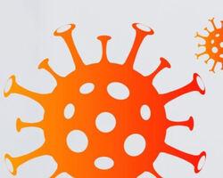 Modell av koronavirus