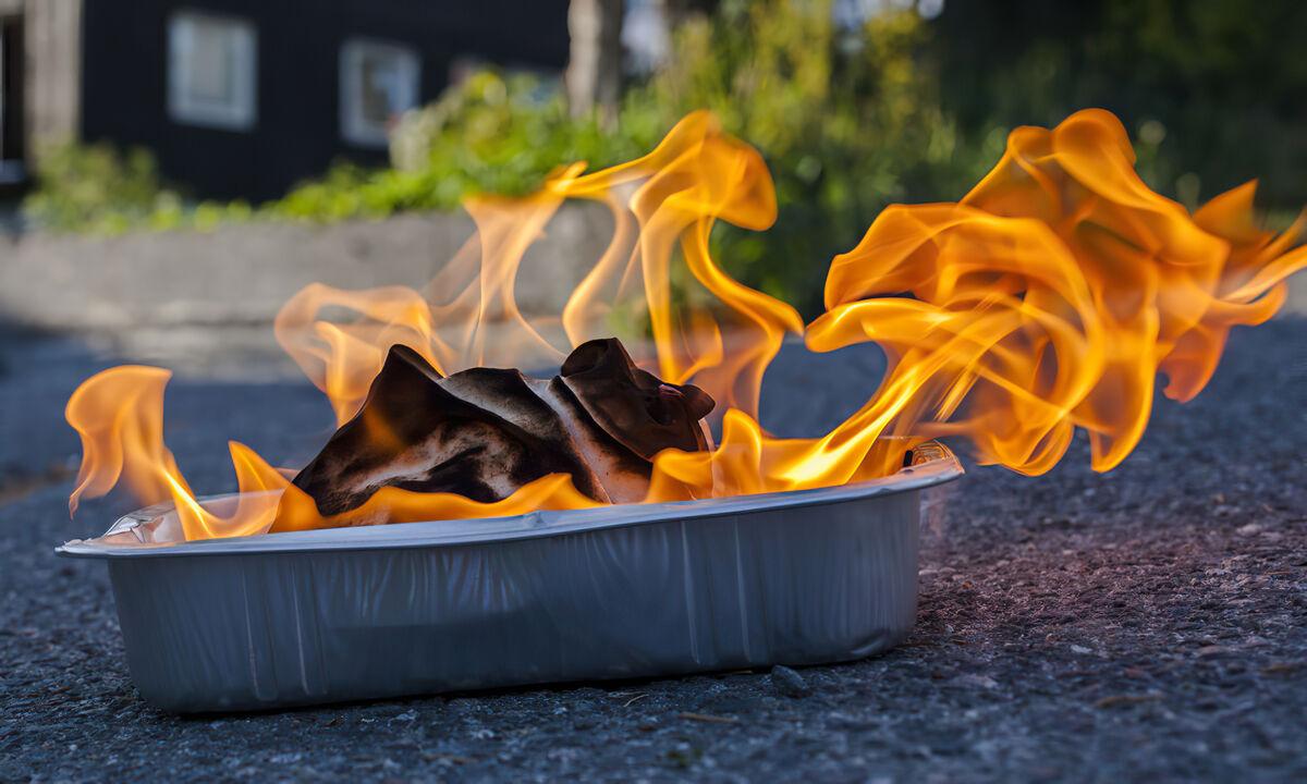 Brennende kluter