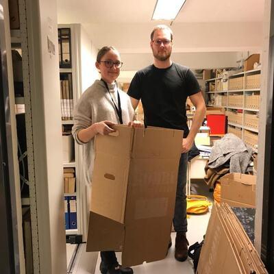 Praksis i arbeidslivet - Theresa og Bengt