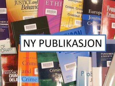 Tekst: Ny publikasjon. Tekst satt oppå tilfeldig sammensatte tidsskrift. Illustrasjonsbilde.