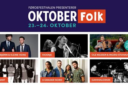 Oktoberfolk 2020 - arrangementbanner