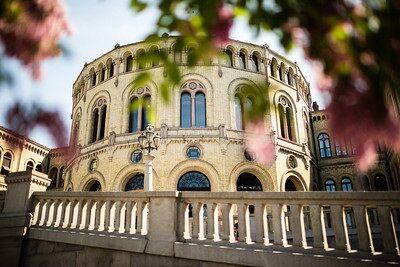 Stortingsbygningen (Foto: Stortinget)
