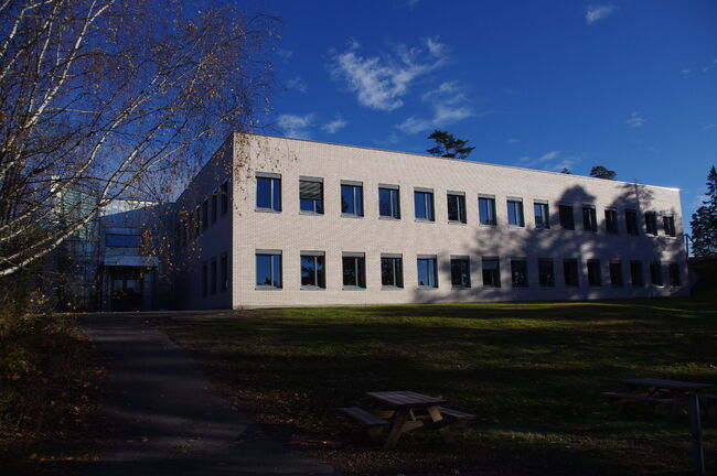 Nordbytun ungdomsskole, fasade