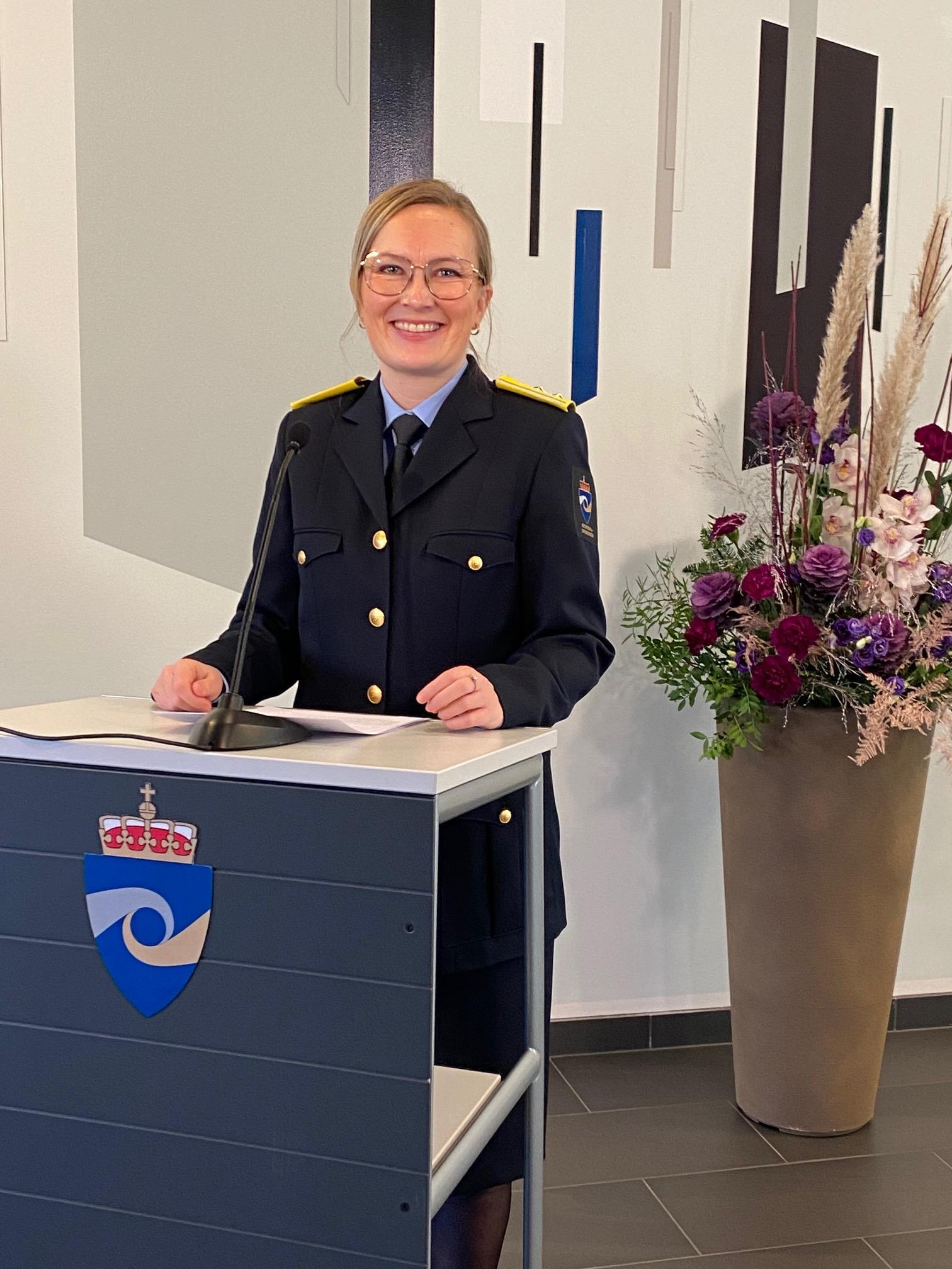 Direktør ved KRUS Kristina Lægreid. Foto.