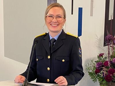 KRUS-direktør Kristina Lægreid. Foto.