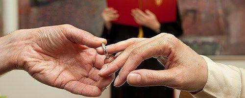 Gifte seg ring