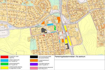 Kart  parkering hjemmesiden