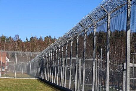 Gjerdet rundt Ila fengsel og forvaringsanstalt