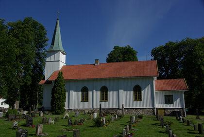 Nordby kirke, foto: Ivar Ola Opheim
