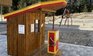 Nordby barnehage bensin-og ladestasjon