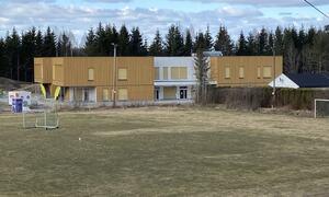 Nordby barnehage sett fra øst. Foto: Jostein Ådalen/Ås kommune