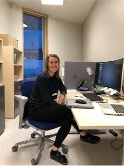 Linn Anita Arnesen begynte jobben med å kartlegge vaksinemottakere allerede i desember 2020.