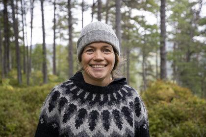 Friluftsliv HVO_Helga Løvoll_Foto Tone Solhaug_skog