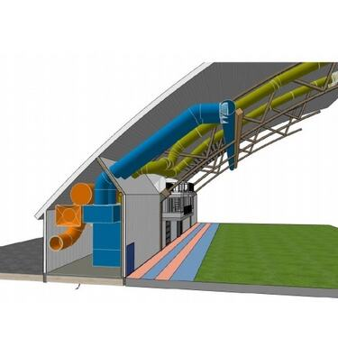 Luftbehandlingsanlegg+fotballhall
