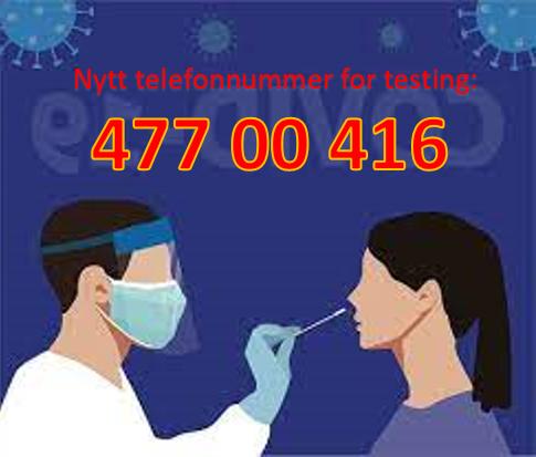 Testing - nytt nummer