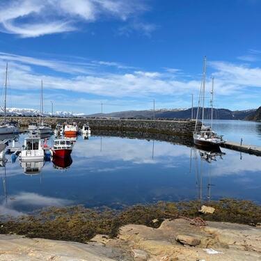 Bilde av båthavn