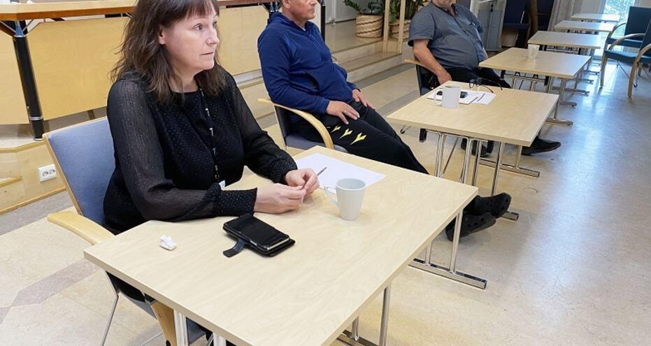 Kriseledelsen i Alta kommune var samlet søndag 13. juni