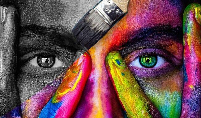Kultur_ansikt med maling