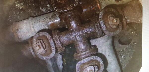 Foto av rørnett under bakken