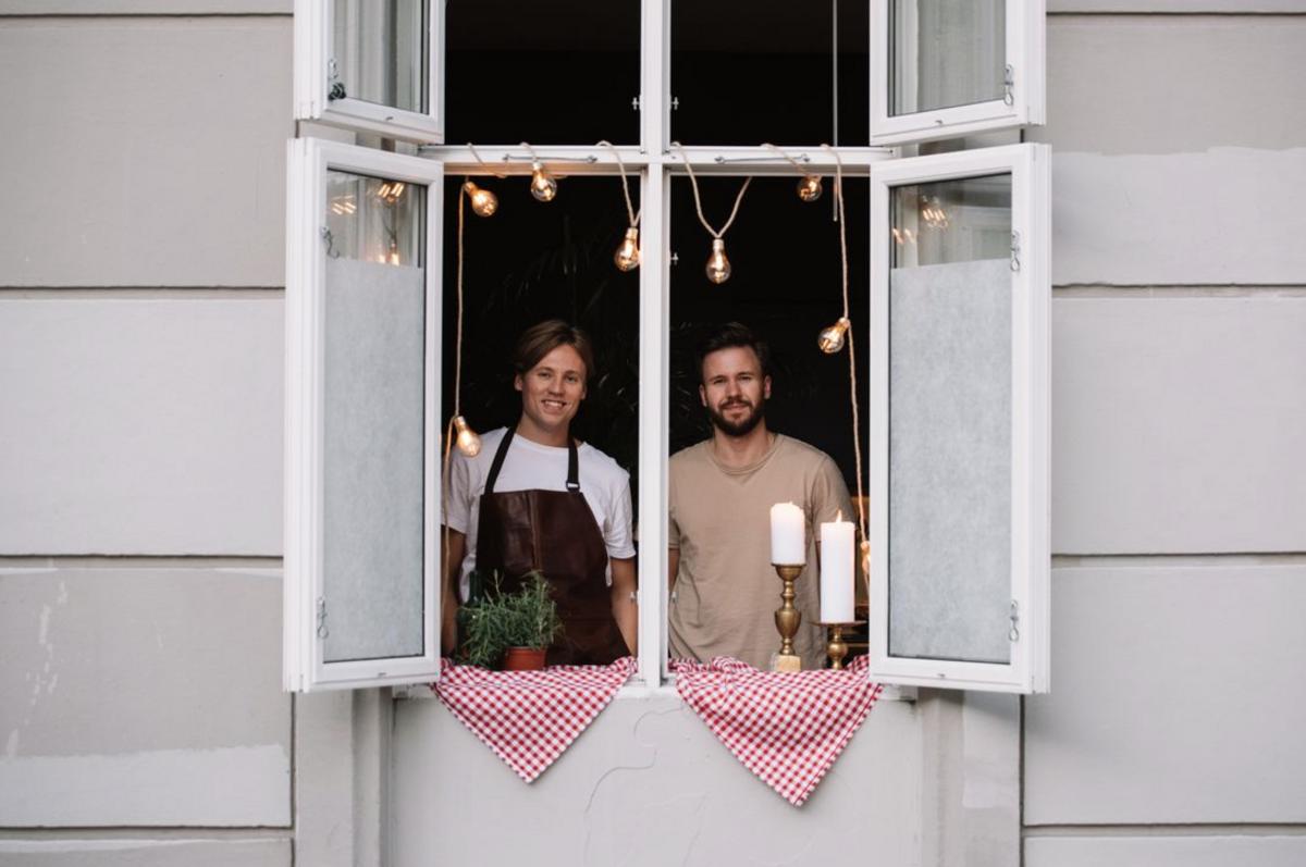 Sultne Gutter - Ole Kristian Samuelsen (27) og Magnus Liøkel (31). Foto Kevin vo : Nora Creatives